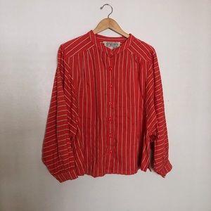 ace&jig barrett blouse in Petitfour size XL
